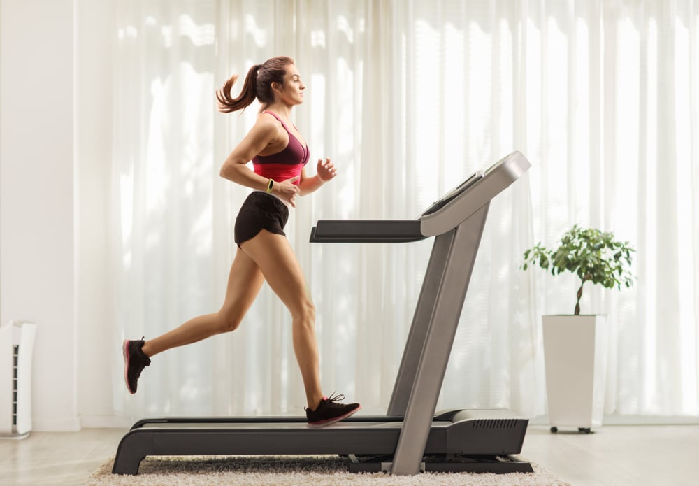 ANCHEER 2 in 1 Folding Treadmill