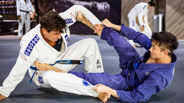 Which muscle do BJJ fighters use the most